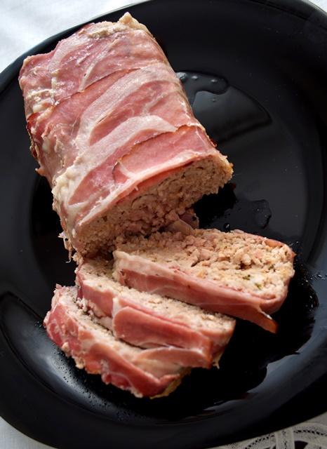 mięso mielone pieczone w szynce szwarcwaldzkiej